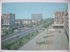 Kyrgyzstan/USSR/Soviet Union: FRUNZE - Bishkek - Sovietskaya Street - 1980s Used - Kirghizistan