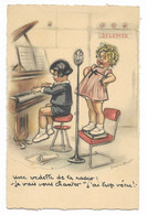 CPA Germaine BOURET Une Vedette De La Radio...MD PARIS - 54 - Bouret, Germaine