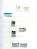 Pologne 1962  Stock  3 Scans  Dont Blocs - Usados