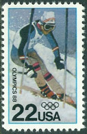 UNITED STATES OF AMERICA 1988 CALGARY OLYMPICS** (MNH) - Ungebraucht
