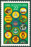 UNITED STATES OF AMERICA 1987 GIRL SCOUTS** (MNH) - Ungebraucht