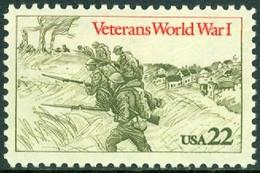 UNITED STATES OF AMERICA 1985 WORLD WAR II VETERANS** (MNH) - Ungebraucht