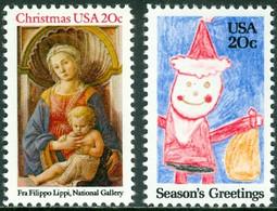 UNITED STATES OF AMERICA 1984 CHRISTMAS** (MNH) - Ungebraucht