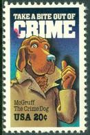 UNITED STATES OF AMERICA 1984 CRIME PREVENTION. DUG McGRUFF** (MNH) - Ungebraucht