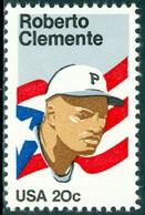 UNITED STATES OF AMERICA 1984 BASEBALL STAR ROBERTO CLEMENTE** (MNH) - Ungebraucht