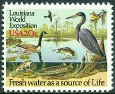UNITED STATES OF AMERICA 1984 LOUISIANA EXPO, BIRDS** (MNH) - Ungebraucht