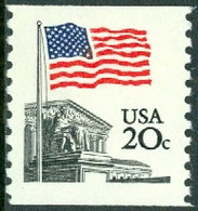 UNITED STATES OF AMERICA 1981 FLAG OVER SUPREME COURT COIL** (MNH) - Ungebraucht