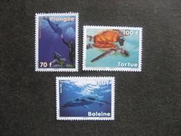 Polynésie: TB Série N° 879 Au N° 881 ,neufs XX . - Nuevos
