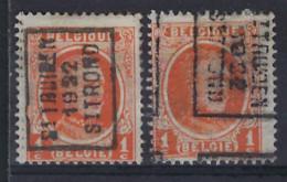 HOUYOUX Nr. 190 Voorafgestempeld Nr. 2947 A + B  ST. TRUIDEN 1922 ST. TROND ; Staat Zie Scan .  Inzet 10 Euro ! - Roller Precancels 1920-29