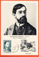 FRI141 ⭐ Musée ALBI 81-Tarn TOULOUSE LAUTREC 1864-1901 Peintre Lithographe 1er Premier Jour 7 Juin 1958 Carte Maximum - Albi