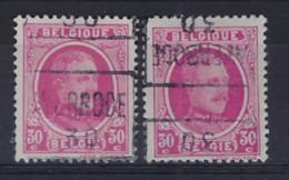 HOUYOUX Nr. 200 Voorafgestempeld Nr. 5521 Positie C + D    AVERBODE 30 ; Staat Zie Scan ! Inzet Aan 20 € ! - Rolstempels 1930-..