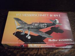 Maquette Plastique - Avion Messerscmitt Bf 109 E Au 1/72 - Heller Humbrol N°80234 - Airplanes