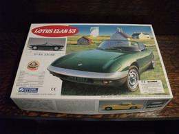 Maquette Plastique - Voiture Lotus Elan S3 Au 1/24 - Gunze Sangyo N°G-183-1200 - Cars