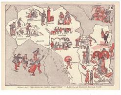 BON-POINT BUTAGAZ N° 16 BOURBONNAIS LYONNAIS - Geografía