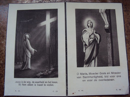 Doodsprentje/Bidprentje  Godelieve WERQUIN Watou(St Jan Ter Biezen 1907-1949 Watou (Echtg HECTOR ROUSERÉ) - Religión & Esoterismo