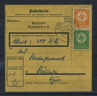 Paketkarte 1943 NORDHAUSEN Siehe Beschreibung (115859) - Brieven
