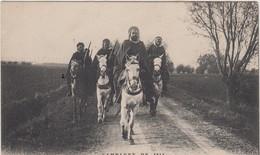 CAMPAGNE DE 1914 PATROUILLE DE GOUMIERS SUR LA ROUTE DE FURNES TBE - War 1914-18
