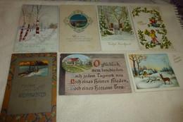 "LOT DE   7 ILLUSTRATIONS...""ETRANGER"" ... - 5 - 99 Cartoline"
