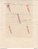 Royaume Uni Tristan Da Cunha Ste Hélène Lettre Croiseur Jeanne D'Arc 1936 Superbe étiquette D'hôtel Pingouin's Palace - Scheepspost