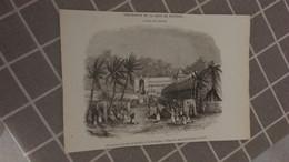 Affiche (dessin) - Procession De La Dent De Bouddha à L'île De Ceylan - Manifesti