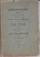 P-GF-FO-21:173 : CHRONIQUES LOCALES LEON GUILLEMIN 1895.  AIRE EN ARTOIS AIRE SUR LA LYS - 1801-1900
