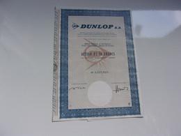 DUNLOP  (50 Francs) 1971 - Unclassified