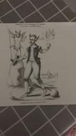 Affiche (dessin) - L'homme Du Temps Caricature De 1580 - Manifesti