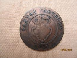 Suisse - Fribourg 5 Rappen 1830 - Suisse