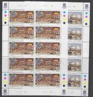 Malta 1999 50Y Council Of Europe 2v 2 Sheetlets ** Mnh (52697) - Idées Européennes