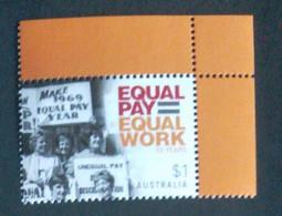 Australia 2019.  Equal  Pay - Equal Work.   MNH - Mint Stamps