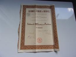 ALCOOLS,ETHERS ET DERIVES (500 Francs)  PUTEAUX - Non Classificati