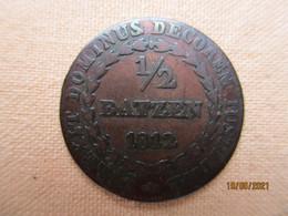 Suisse: Canton Unterwalden Obwalden - 1/2 Batzen 1812 - Svizzera