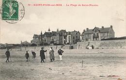 SAINT PAIR SUR MER : LA PLAGE DE SAINT NICOLAS - Saint Pair Sur Mer