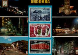 ANDORRA....VUES DIVERS ...CPM - Andorra