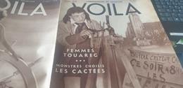 VOILA 36/CACTEES /PAQUES/FEMME TOUAREG /ALLEMAGNE UFA MARC ALLEGRET PLOQUIN - 1900 - 1949