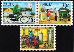 Aruba - 1997 - America UPAEP - Post Men Through Time - Mint Stamp Set - Curaçao, Antille Olandesi, Aruba