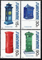 Surinam - 1985 - Mailboxes - Mint Stamp Set - Suriname
