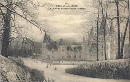 CPA Pouilly-sur-Loire Le Château De Nozet Sous La Neige - Pouilly Sur Loire