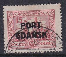 POLAND 1925 Port Gdansk Fi 14 II Used - Occupations