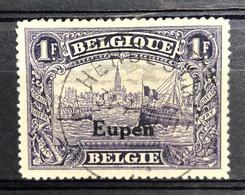België, 1920, Nr. OC97, OBP 18€, Prachtig Centraal Gestempeld HERBESTHAL - [OC55/105] Eupen/Malmedy