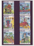Belize  -  Disney - 6 Timbres Différents - 269 - Turks- En Caicoseilanden