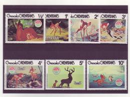 Grenada Grenadines  -  Disney - 7 Timbres Différents - 271 - Grenada (1974-...)
