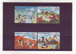 Grenada Grenadines  -  Disney - 4 Timbres Différents - 272 - Grenada (1974-...)