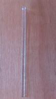 Mélangeur à Boisson Plat Transparent Avec Paillettes - Swizzle Sticks