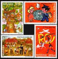 Romania - 2005 - Post And Flood Relief - Mint Stamp Set - Ongebruikt