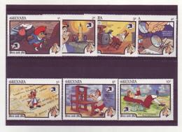 Grenada  -  Disney - 7 Timbres Différents - 275 - Grenada (1974-...)