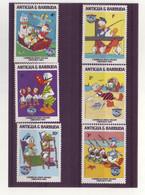 Antigua & Barbade  -  Disney - 6 Timbres Différents - 277 - Antigua E Barbuda (1981-...)