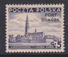 Port Gdansk 1937 Fi 29 Mint Hinged - Ocupaciones