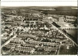 NEUVES-MAISONS - Vue Panoramique Aérienne. La Moselle, Les Usines, Les Cités De La Plaine Cim 9977 A, Cpsm GF - Neuves Maisons