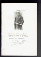 PROSPER AUGOUARD 1852 POITIERS 1921 PARIS MISSIONNAIRE CONGO ET OUBANGUI  PORTRAIT AUTOGRAPHE BIOGRAPHIE ALBUM MARIANI - Historical Documents